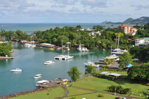 St Lucia, the only country in the world named after a woman