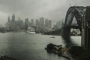Sydney is set to receive up to 25mm of rain today as a low-pressure weather system sweeps up Australia's east coast.