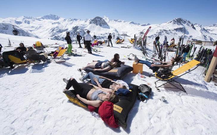 British Tourist Head To The Alps For Ski Season Holidays
