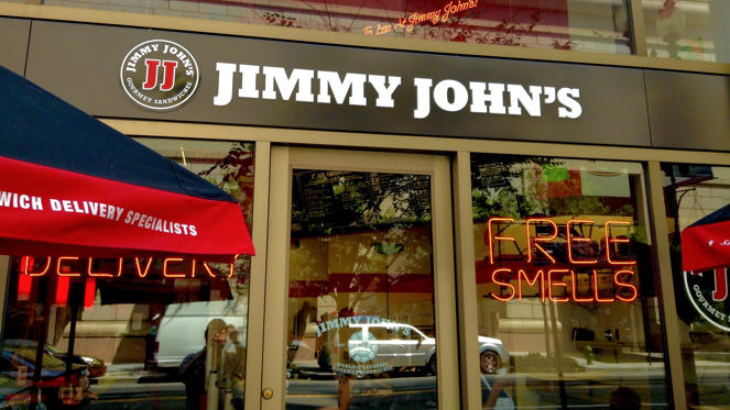 "Slide 3 of 11: <strong>Liquid assets required:</strong> $80,000<p>If you've ever had a Jimmy John's gourmet sandwich, then you know they're simply delicious. Now, you can be a part of the winning franchise with as little as $80,000.</p><p>You can expect to pay an initial $35,000 franchise fee. In all, plan to invest between $329,500 and $557,500. You'll also need to have a net worth of $300,000. Even with lower start-up costs, you'll likely need a small business credit card, and <a href=""https://www.gobankingrates.com/credit/10-best-credit-cards-small-businesses/"">other entrepreneurs have recommended their favorite cards</a>.</p><p>Average 2016 annual sales per Jimmy John's restaurant were $1,170,866, and the average net profit was $121,961. Currently, there are over 2,000 locations across the U.S. Entrepreneur Magazine named Jimmy John's the fifth-best franchise to own.</p>"