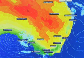 A spring splash of heat is delivering a dose of beach weather to eastern Australia.