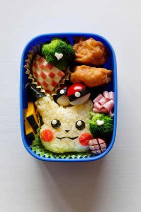 21 枚のスライドの 17 枚目: Saori Inokuchi's bento box from the class.