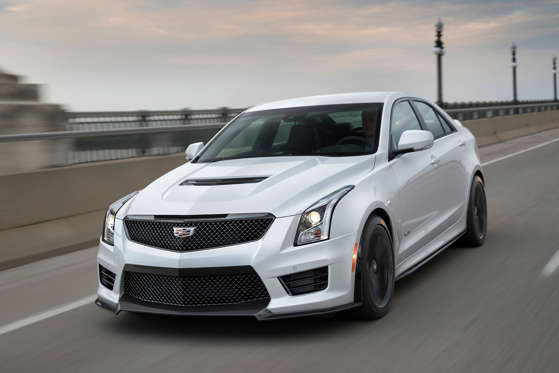 2018 Cadillac Ats V Sedan Overview Msn Autos