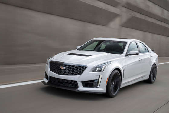 2018 Cadillac Cts V Sedan Overview Msn Autos