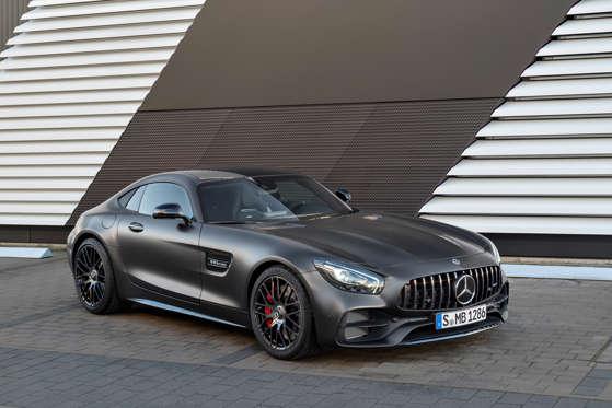 Mercedes Benz Coupe >> 2018 Mercedes Benz Amg Gt Coupe Overview Msn Autos