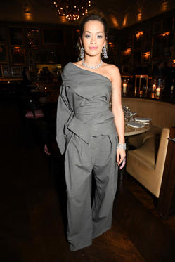 Slide 2 de 18: Mandatory Credit: Photo by Richard Young/REX/Shutterstock (9310209bb) Rita Ora GQ Dinner, Fall Winter 2018, London Fashion Week Men's, UK - 08 Jan 2018