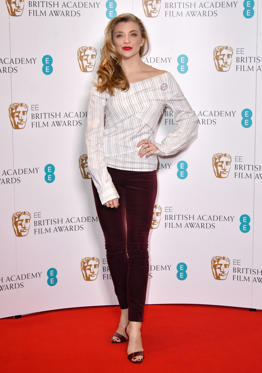 Slide 8 de 18: Mandatory Credit: Photo by Nils Jorgensen/REX/Shutterstock (9310551g) Natalie Dormer BAFTA Film Awards nominations announcement, London, UK - 09 Jan 2018