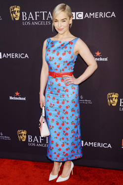 Slide 10 de 18: Mandatory Credit: Photo by Broadimage/REX/Shutterstock (9309023ad) Emilia Clarke BAFTA Tea Party, Los Angeles, USA - 06 Jan 2018 British Academy of Film and Television Arts Los Angeles Angeles Hosts the 2018 Bafta Awards WEARING MICHAEL KORS COLLECTION