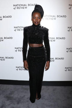Slide 17 de 18: Mandatory Credit: Photo by Gregory Pace/REX/Shutterstock (9313227ao) Lupita Nyong'o The National Board of Review Awards Gala, Arrivals, New York, USA - 09 Jan 2018