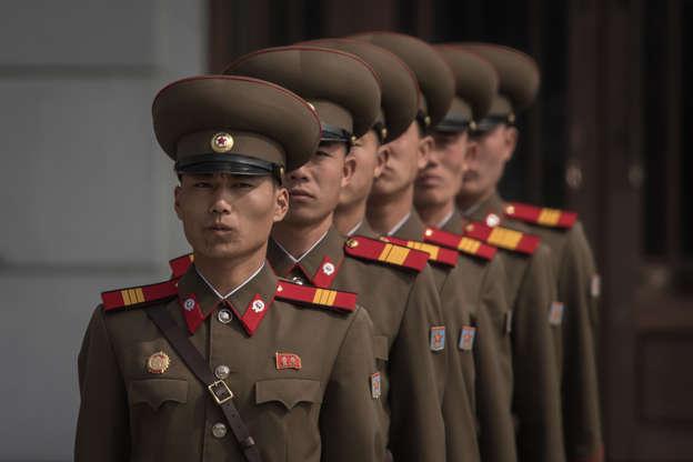 008a198125f The many uniforms of North Korea