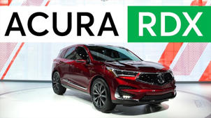 a close up of a car: 2018 Detroit Auto Show: 2019 Acura RDX Gains Advanced Safety and More Power