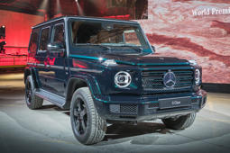 New Mercedes G-Class revealed - or is that the old one?