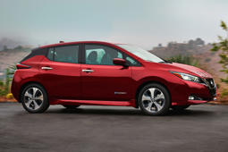 2018 Nissan Leaf plays a risky game