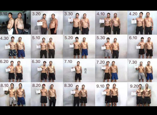 Diapositiva 11 de 11: Fotógrafo y su familia deciden bajar de peso juntos y el resultado se hace viral en las redes