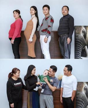 Diapositiva 3 de 11: Fotógrafo y su familia deciden bajar de peso juntos y el resultado se hace viral en las redes