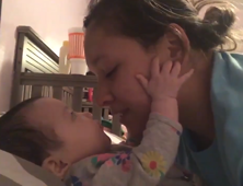 Adorable 4-Month-Old Says First Word in Front of Mother