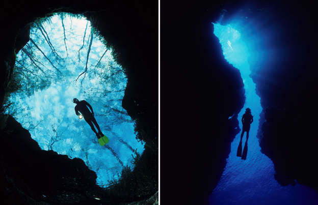 amazing underwater caves that will mesmerize you