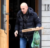 Matt Lauer spotted moving out of his family home