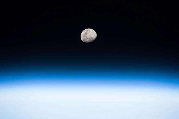 Slide 12 of 86: The moon rises in this photo taken in low Earth orbit by NASA astronaut Randy Bresnik from the International Space Station on August 3, 2017. NASA/Handout via REUTERS ATTENTION EDITORS - THIS IMAGE WAS PROVIDED BY A THIRD PARTY