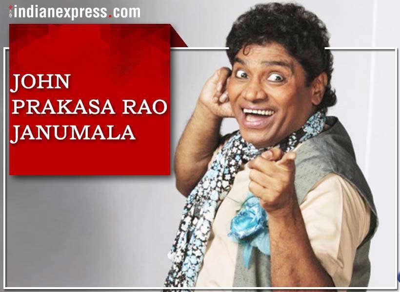 Slide 18 of 28: The master of comedy, Johnny Lever is John Prakasa Rao Janumala in reality.