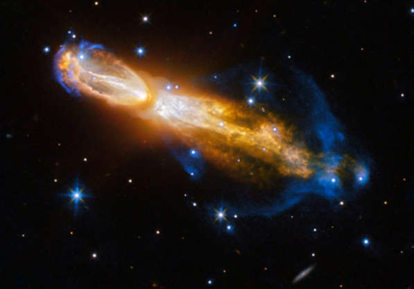 Slide 25 of 86: The Calabash Nebula in an image released by NASA on February 3, 2017. The Calabash Nebula is an example of the death of a low-mass star. This image taken by the NASA/ESA Hubble Space Telescope shows the star transforming from a red giant to a planetary nebula, as it blows gas and dust out into the surrounding space. NASA/ESA/Handout via REUTERS ATTENTION EDITORS - THIS IMAGE WAS PROVIDED BY A THIRD PARTY