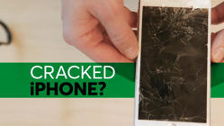 Fixing a Cracked iPhone Screen