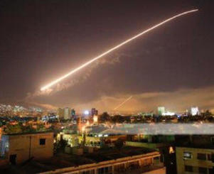 missile attack on Syria
