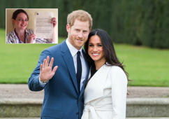 Youth worker nearly throws away Royal wedding invite thinking it's a fake