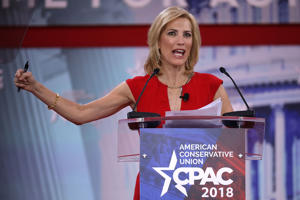 Fox News host Laura  Ingraham questioned President Trump's decision to launch the Syria strikes on Friday.