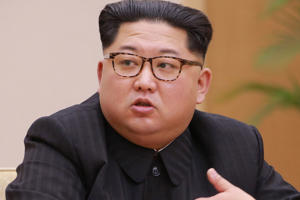 North Korean leader Kim Jong Un.