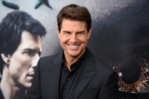 Tom Cruise attends 'The Mummy' New York fan event at AMC Loews Lincoln Square on June 6, 2017 in New York City.  (Photo by Andrew Toth/FilmMagic)