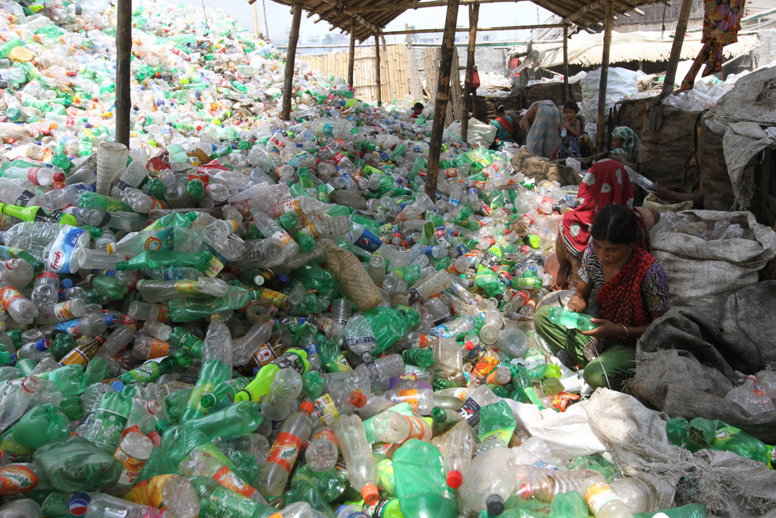 Plastic recycling Factory