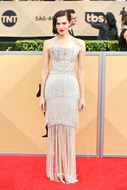 Slide 23 de 61: 24th Annual Screen Actors Guild Awards, Arrivals, Los Angeles, USA - 21 Jan 2018
