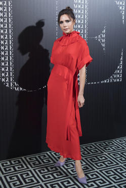 Slide 17 de 61: Vogue Dinner honoring Victoria Beckham, Madrid, Spain - 18 Jan 2018Victoria Beckham