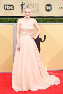 Slide 19 de 61: 24th Annual Screen Actors Guild Awards, Arrivals, Los Angeles, USA - 21 Jan 2018