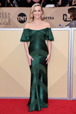 Slide 20 de 61: 24th Annual Screen Actors Guild Awards, Arrivals, Los Angeles, USA - 21 Jan 2018Reese Witherspoon