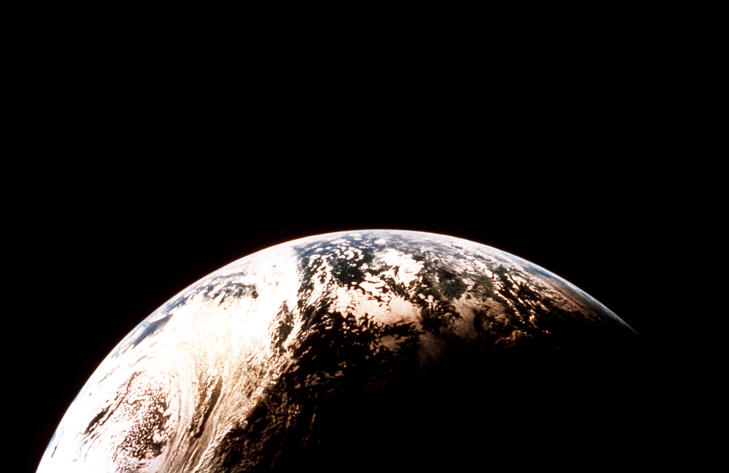 The Earth in Orbit.