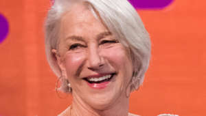 Helen Mirren during the filming of the Graham Norton Show at The London Studios, south London.