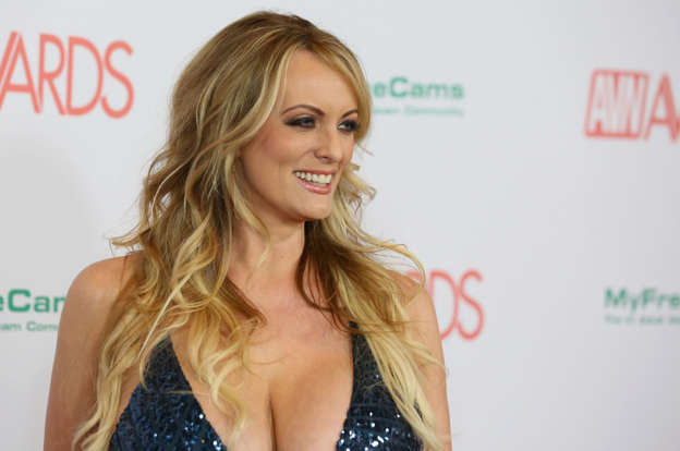 Adult film actress/director Stormy Daniels
