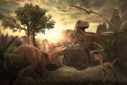 Still believe an asteroid killed the dinosaurs? Think again—new theory suggests