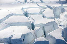 Are Antarctic glaciers melting from below?