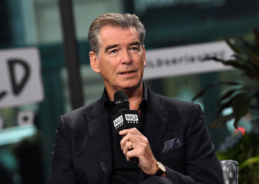 Slide 1 of 23: NEW YORK, NY - APRIL 06:  Actor Pierce Brosnan discusses the new series 'The Son' at Build Series at Build Studio on April 6, 2017 in New York City.  (Photo by Slaven Vlasic/Getty Images)