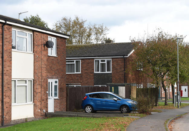 The house in Coalville, Leicestershire, where Kane Gamble hacked into the computers of senior US government officials