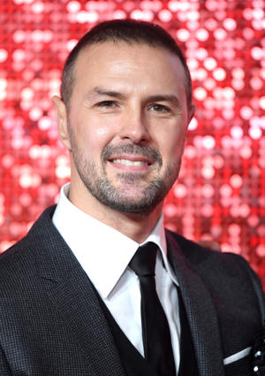 LONDON, ENGLAND - NOVEMBER 09:  Paddy McGuinness attends the ITV Gala at the London Palladium on November 9, 2017 in London, England.  (Photo by Karwai Tang/WireImage)