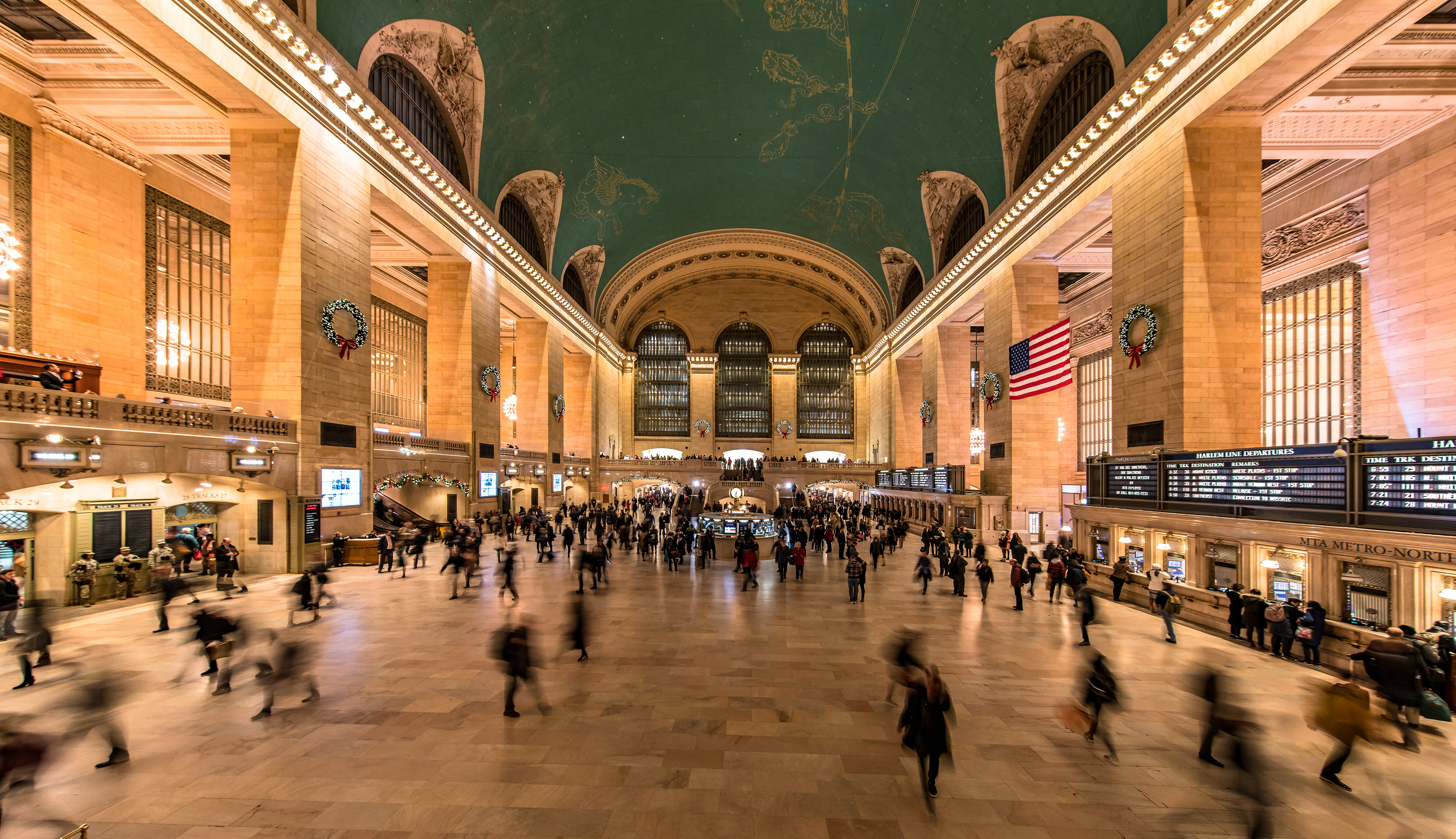 Slide 19 of 29: Grand Central Station, New York City, USA