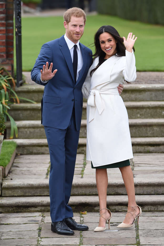 ce3e5dff1e0d6 Prince Harry and Meghan Markle in the Sunken Garden at Kensington Palace