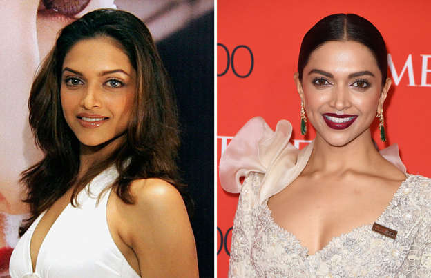 Deepika Padukone Then And Now - Ameesha Patel Fans