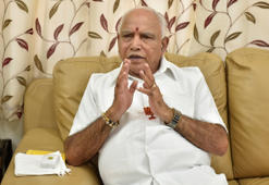 BENGALURU, INDIA - JANUARY 16: BJP state president and former chief minister of Karnataka BS Yeddyurappa during an interview on January 16, 2018 in Bengaluru, India. (Photo by Arijit Sen/Hindustan Times via Getty Images)