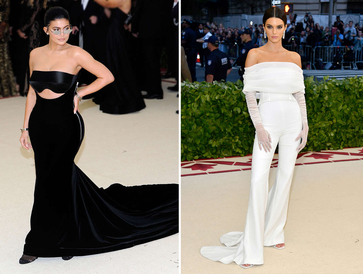 0cca9b73 Kendall and Kylie Jenner's memorable fashion moments