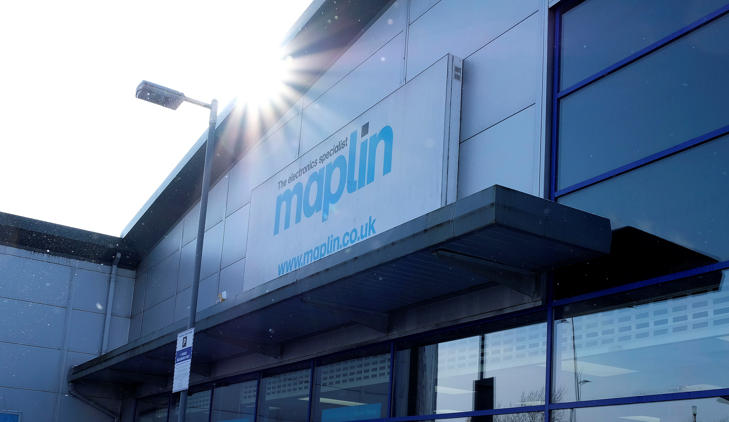 Maplin store in Stockport